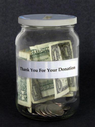 fare donazioni