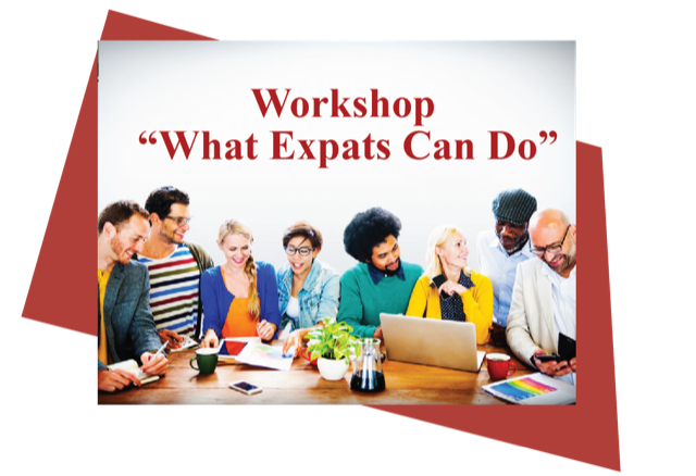 "Workshop ""What Expats Can Do"""